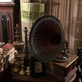 Decorative antique phonograph