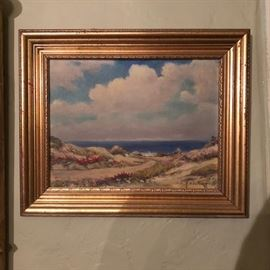 Original painting by F. H. Cutting, listed