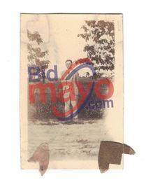 """Clyde Barrow, 1.75"""" x 2 5/8"""""""