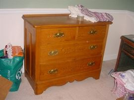 One of several antique chests, and dressers