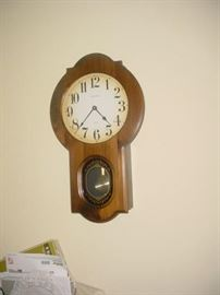 two wall clocks as such