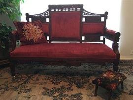 Parlor sofa