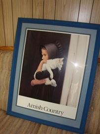 Amish Country Framed Wall Hanging