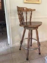 Vintage bar-stool