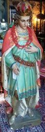 Religious Church Statue - Saint Casimir - Patron Saint of Poland & Lithuania