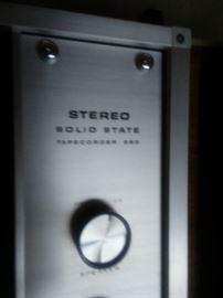 Sony Model 280 Reel to Reel Recorder - Mid Century