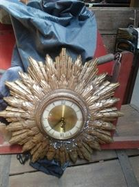 Welby Wind Up Clock