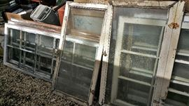 multipane wood frame windows