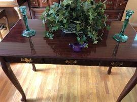 Cherry Sofa Table/Desk
