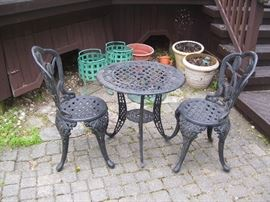 Bistro set for your porch.