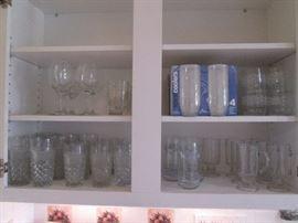 Water Goblets, Some Vintage