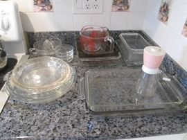 Variety of Pyrex Pieces