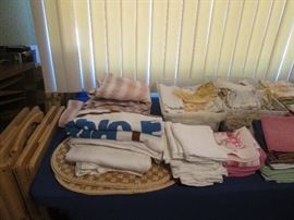 Bath and Table Linens