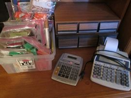Miscellaneous Bagged Office Supplies and Equipment