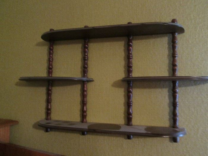 Wall-Mount Display Shelf