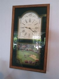 Golf-themed Wall Clock by Ingraham