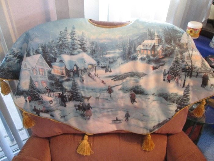 Kinkade Christmas Tree Skirt