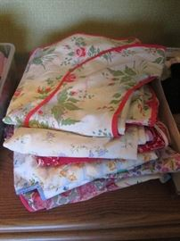 Assortment of Vintage Aprons
