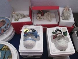 Christmas Ornaments in Boxes, some Lenox