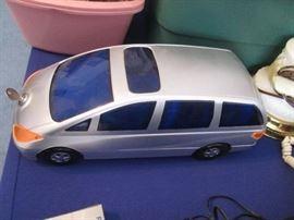 Silver Van CD Holder, see detail next photo