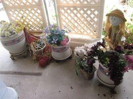 Pots Galore and Yard Decor