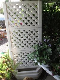 Planter with Trellis - We have 3 of them!