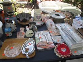Assorted Kitchen Goods
