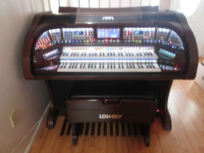 "Fabulous Lowrey Organ, Model ""Sterling"".  All Digital, beautiful condition and wonderful sound!  Approximately 4-5 years old."