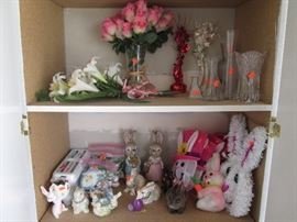 Vases and Easter Bunnies