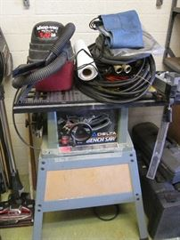 "Delta 10"" Bench Saw with Stand"
