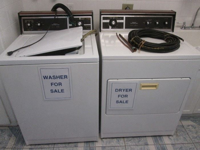 Pair of Kenmore Washer/Dryer Machines