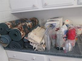Rugs and Plastic Ware