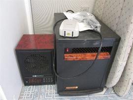 Air Purifier by EdenPURE #G7.                                       EdenPURE Quartz Infrared Portable Heater #1000