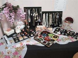 Always a nice assortment of Costume Jewelry, great for gift-giving and re-purposing