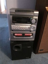 AIWA Stereo #CXNMT320                                              Woofer #TSW35u