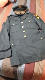 Vintage Army Uniform