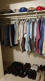 Men's Clothes, Shoes and Hats