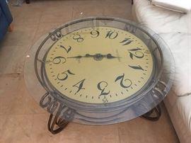 Clock Coffee Table