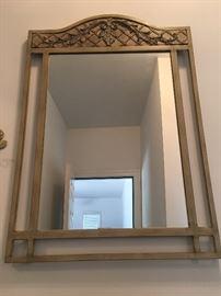 lovely hallway mirror