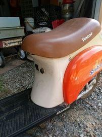 "Razor ""Sunkist"" promotional scooter"