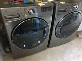 LG washer and Dryer 1 year old! 10 year warranty