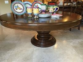 Beautiful table, need a little top work Carnaby collection  Seymour Mann Inc