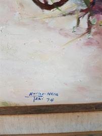 Hsiao Hsiao Original Painting