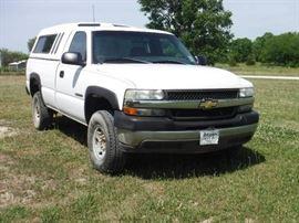 2001 Chevrolet 2500HD Truck