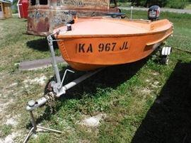 14ft Fishing Boat