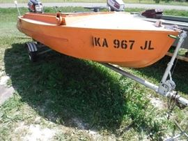 14ft Fishing Boat