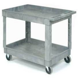 Global Industrial Plastic Service Cart