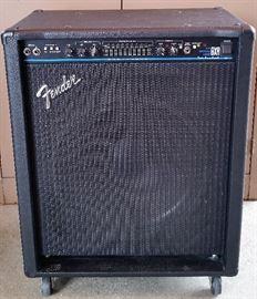 Fender BXR 200 amplifier.