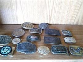 Belt Buckle Collection