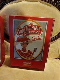 SODA FOUNTAIN SWEETHEART BARBIE IN BOX